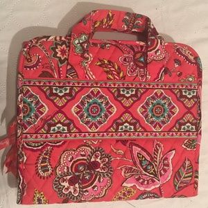 Vera Bradley Makeup Jewelry Organizer Bag